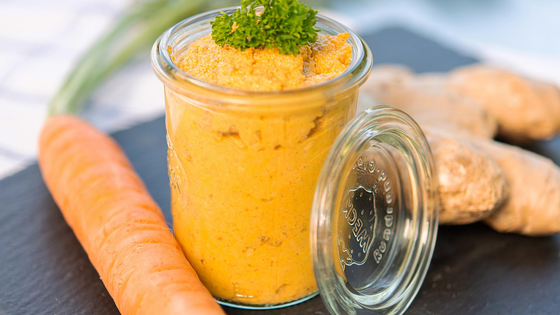 Karotten-Ingwer Aufstrich