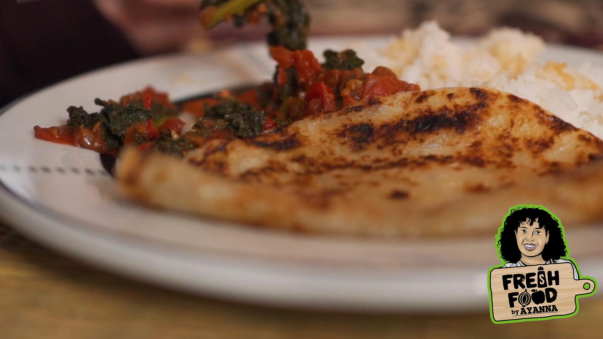 Sukuma Wiki & Chapati