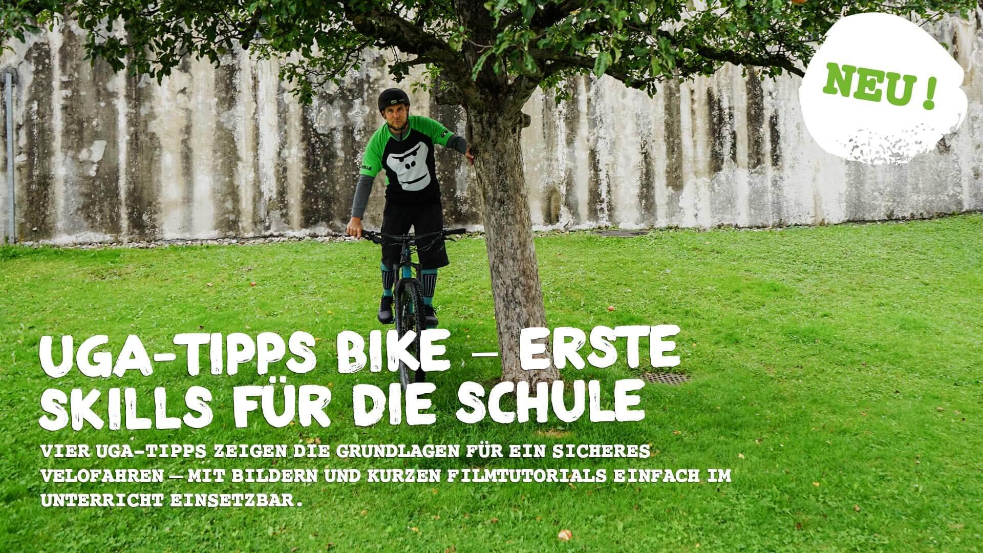 UGA-Tipps Bike – Erste Skills fuer die Schule